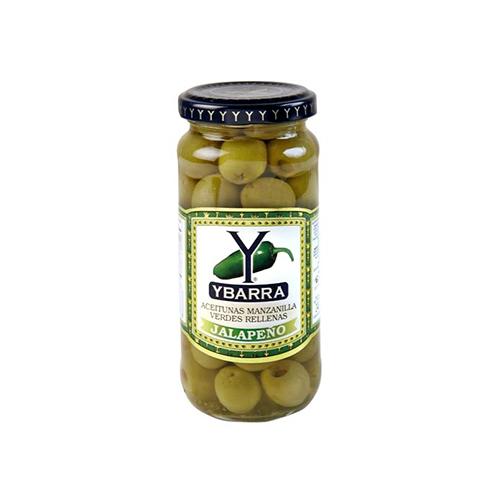 Ybarra Stuffed Olives-Jalapeno – 400g