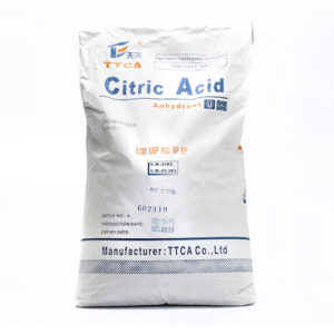 TTCA Citric Acid-Mono - 25kg